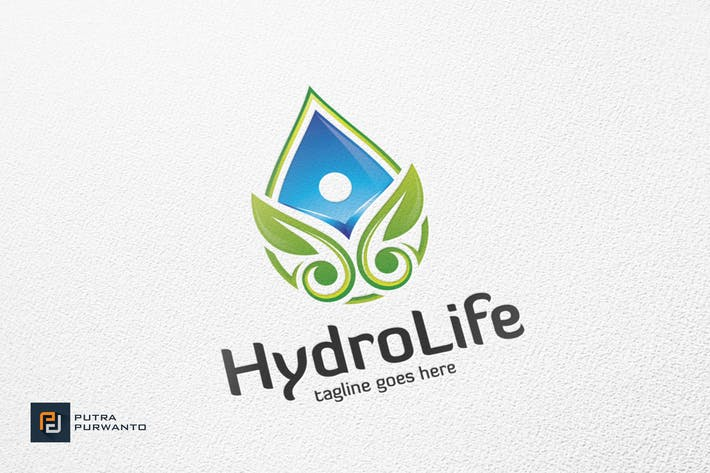 Thumbnail for Hydro Life - Logo Template
