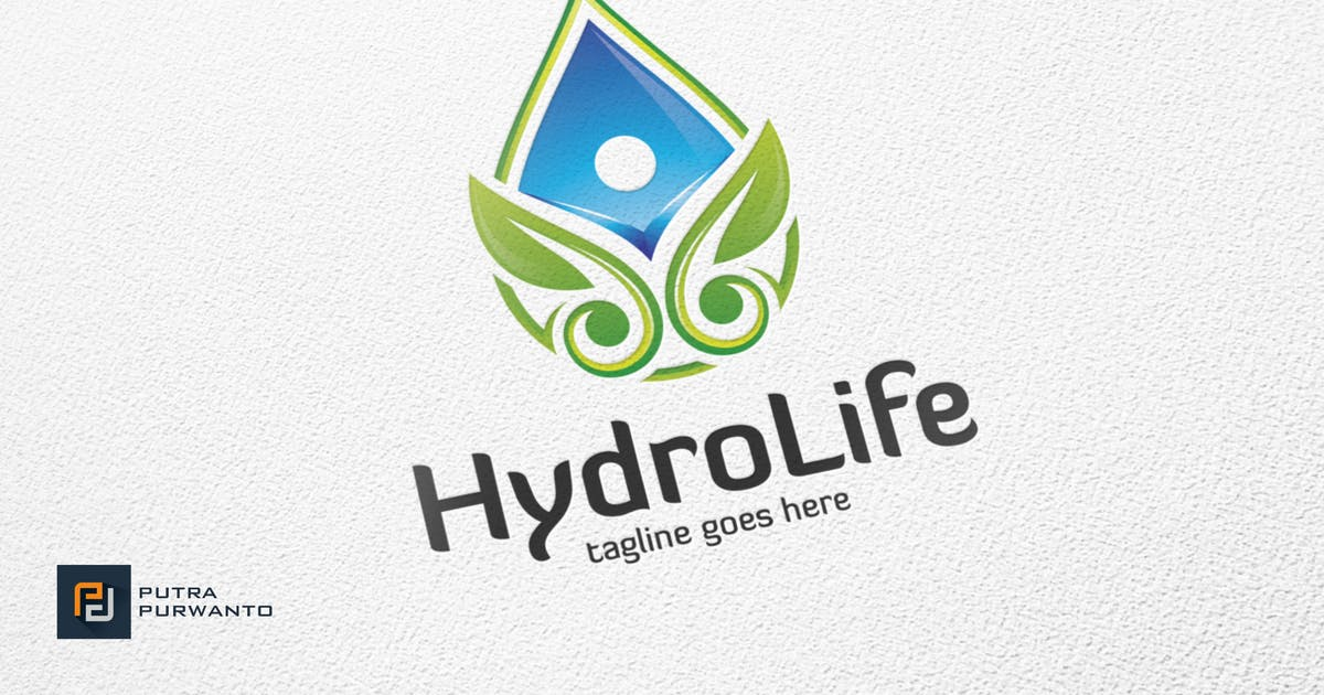 Download Hydro Life - Logo Template by putra_purwanto