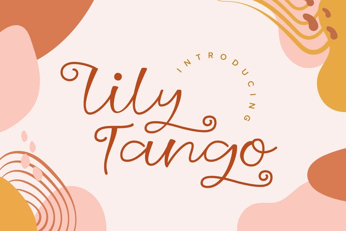 Thumbnail for Lily Tango - Display | Script | Logo Font