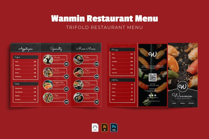 Thumbnail for Wanmin | Menu du Restaurant
