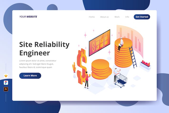 Thumbnail for Site Reliability Engineer - Landing Page