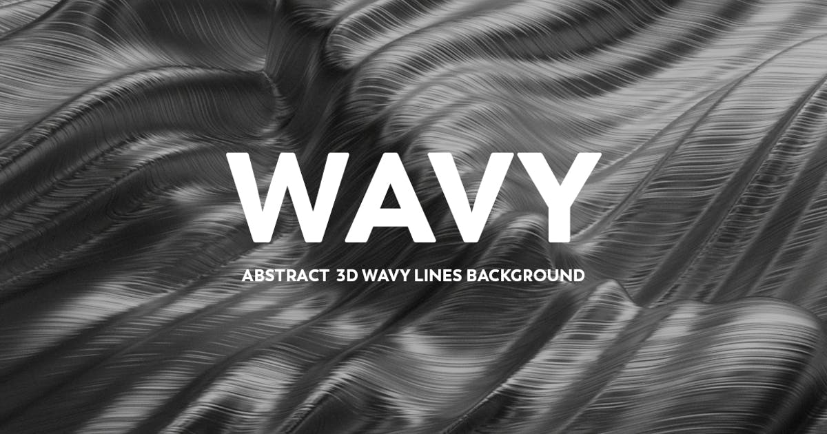 Download Abstract 3D wavy Lines Background - Silver Color by mamounalbibi