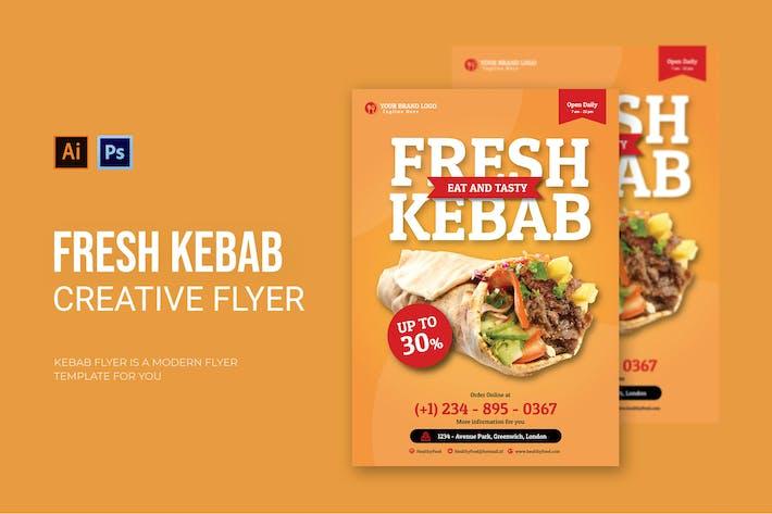 Frischer Kebab - Flyer