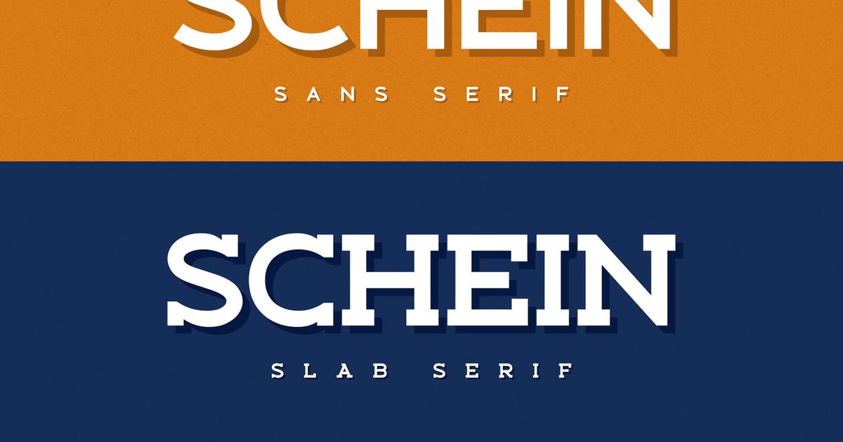 Download Schein - Sans & Slab by Alterzone