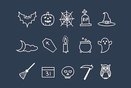 15 Halloween Doodles