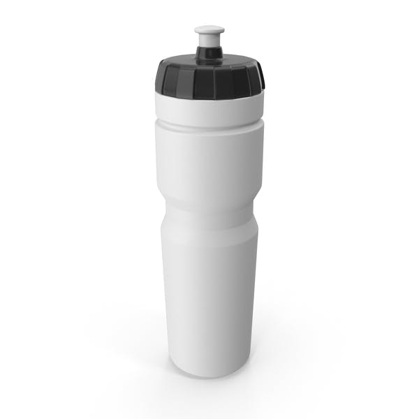 White Sport Bottle