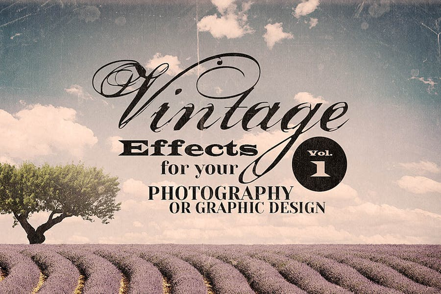 Vintage Effects for Photo or Designs