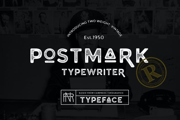 Thumbnail for Postmark Typewriter.