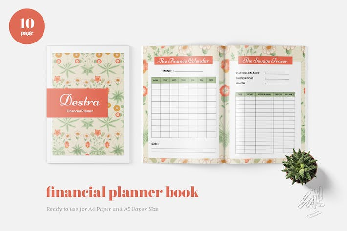 Thumbnail for Finance Planner Book
