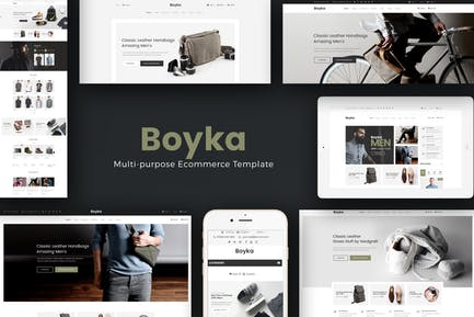 Boyka - Мода Отзывчивый PrestaShop Тема