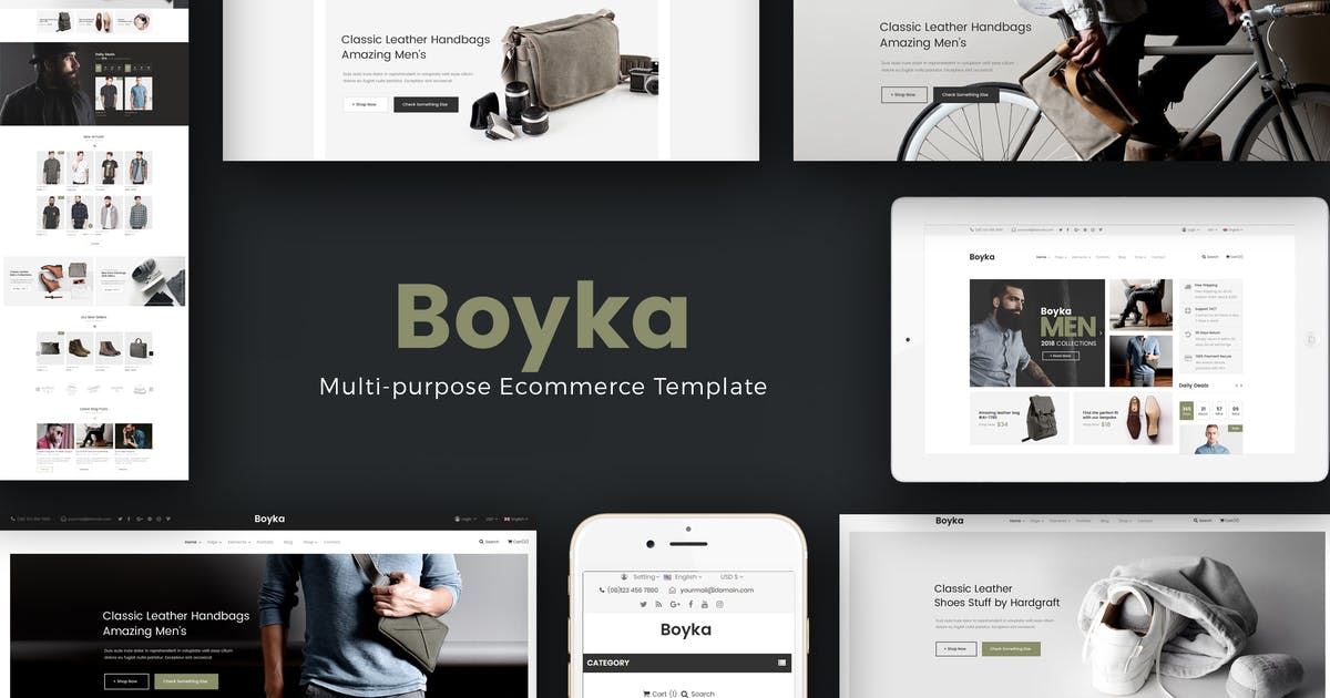 Download Boyka - Fashion Responsive PrestaShop Theme by Plaza-Themes