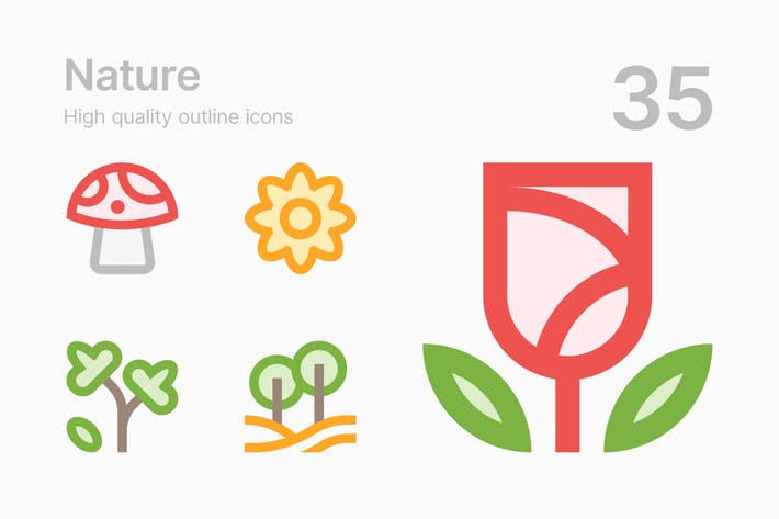 Thumbnail for Nature Icons