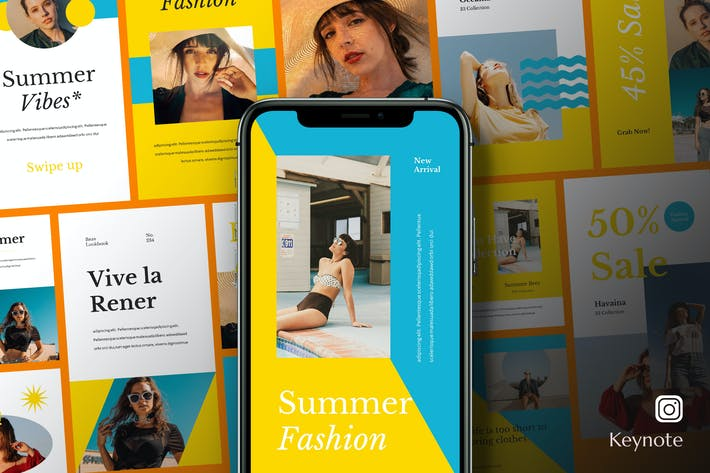 Beav - Мода Бизнес Instagram Keynote