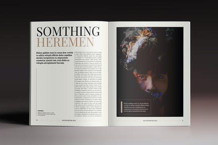 Multipurpose Magazine 6 Indesign Template