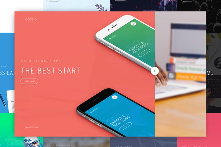 Cover Image For Cospo — Creative HTML Template