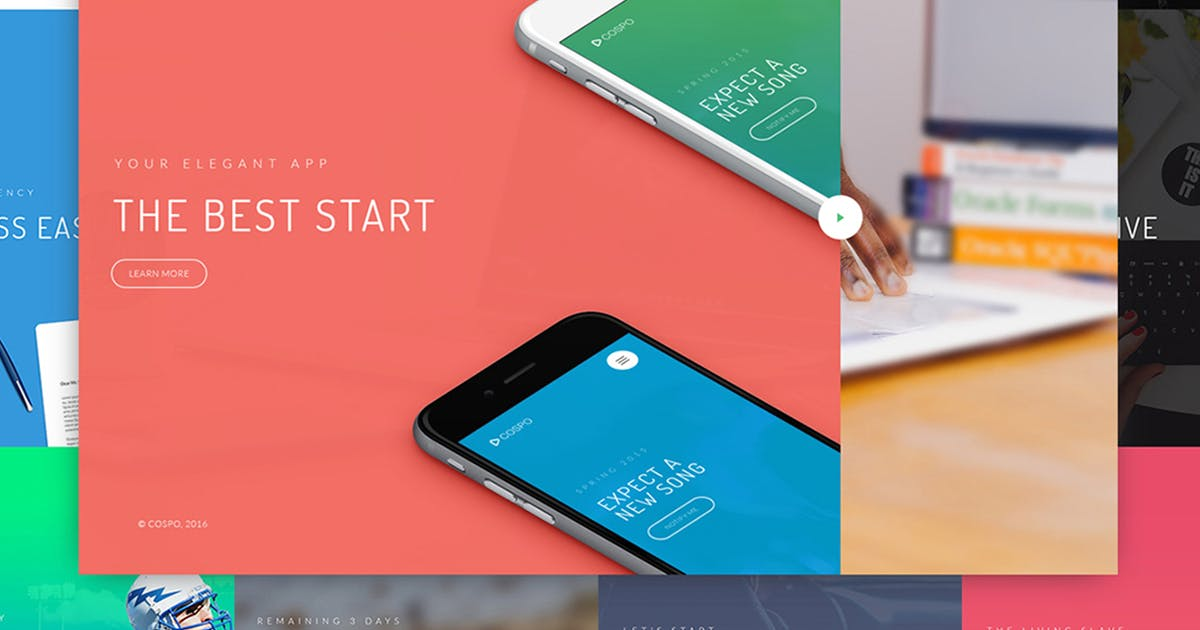 Download Cospo — Creative HTML Template by WpWay_