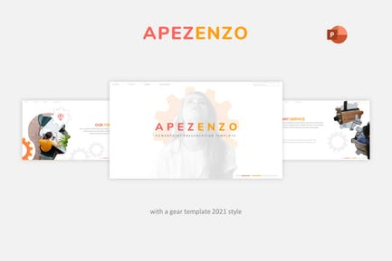 Apezenzo - Business Powerpoint Template