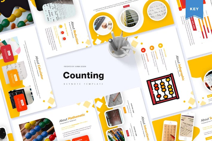 Thumbnail for Counting | Keynote Template