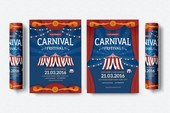 Thumbnail for Carnival Festival Flyer / Poster
