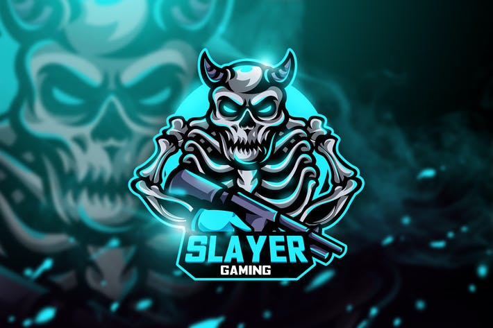 Thumbnail for Slayer Gaming - Mascot & Esport Logo