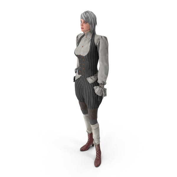Thumbnail for Steampunk Girl