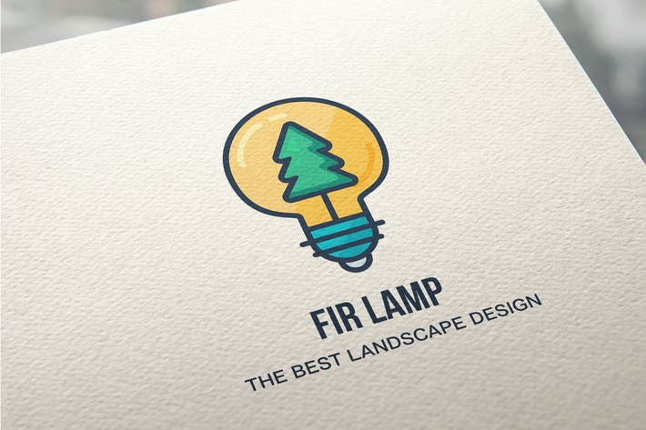 Cover Image For Creative Landscape Design Logo Template