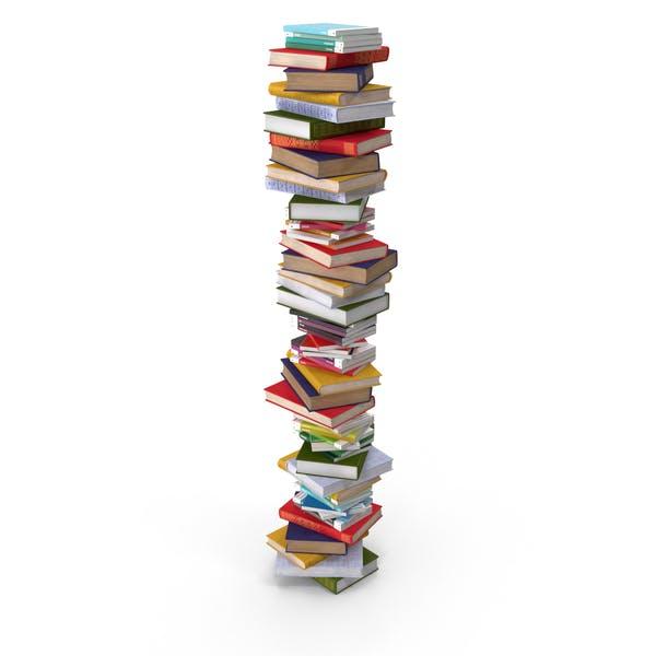 Großer Stapel Bücher