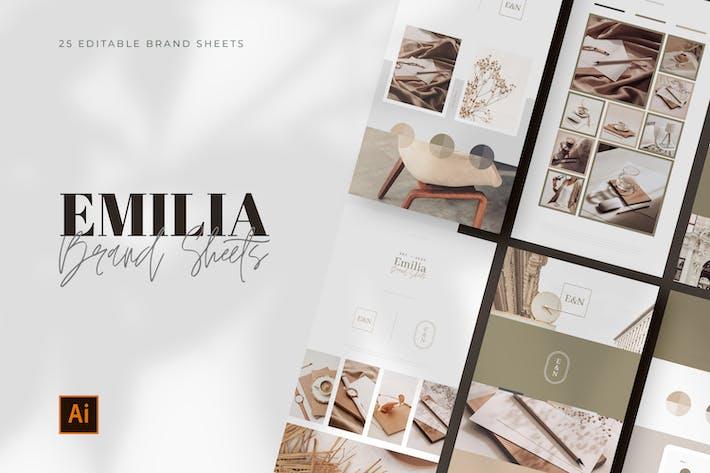 Thumbnail for Illustrator Brand Moodboards