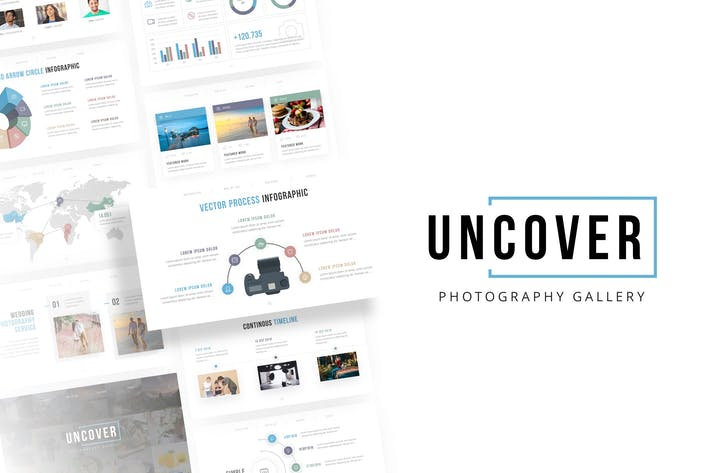 Thumbnail for Uncover - Photography PowerPoint Template