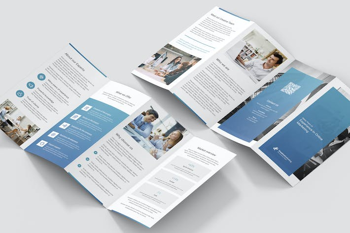 Thumbnail for Brochure – Creative Marketing 4-Fold