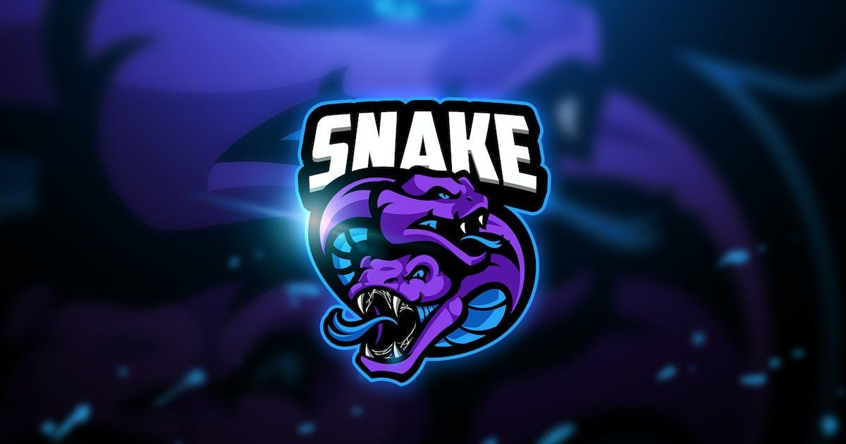 Download Snake 4 - Mascot & Esport Logo by aqrstudio