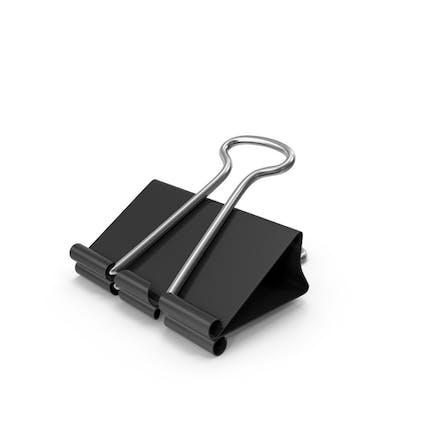 Clip para encuadernador negro
