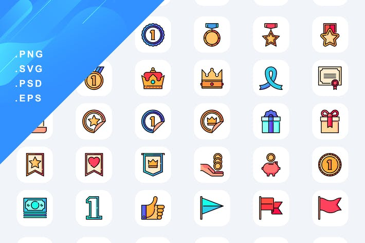 50 Иконки Награды