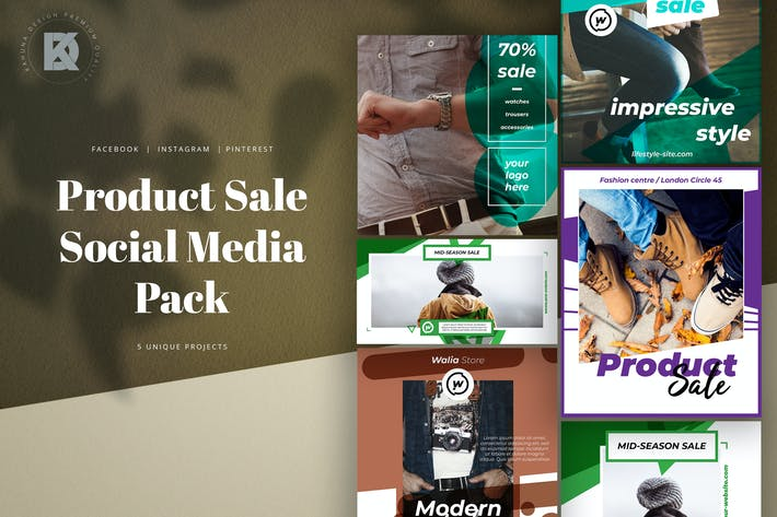 Cover Image For Product Sale Social Media Pack