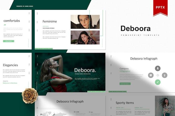 Cover Image For Debooora | Шаблон Powerpoint