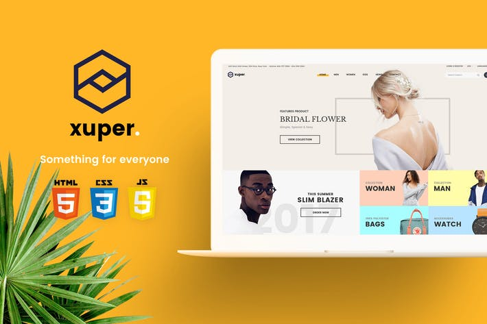 Thumbnail for Xuper - eCommerce HTML5 Template