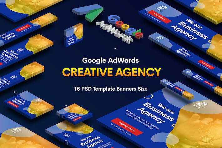 Thumbnail for Creative Agency Banners Ad