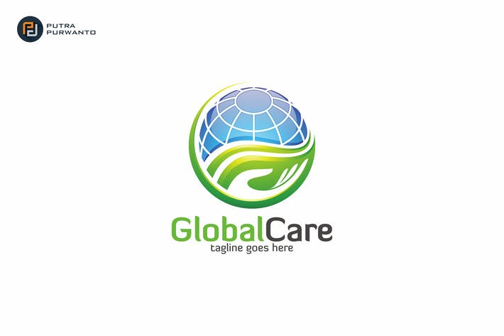 Thumbnail for Global Care - Logo Template