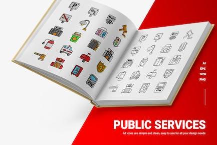 Public Services - Icons
