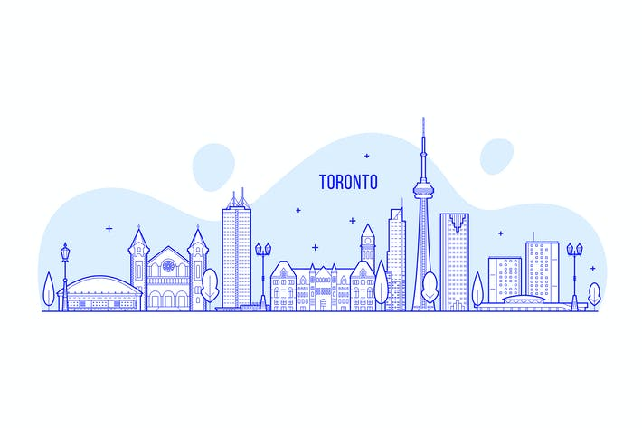 Thumbnail for Toronto skyline, Canada