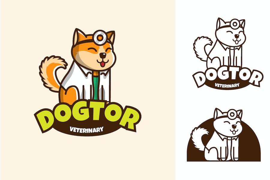 DOGTOR - Mascot & Esport Logo