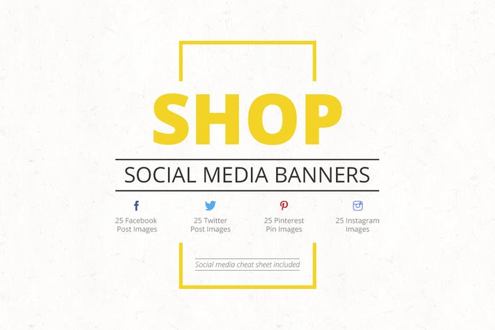 Thumbnail for Shop Social Media Banners