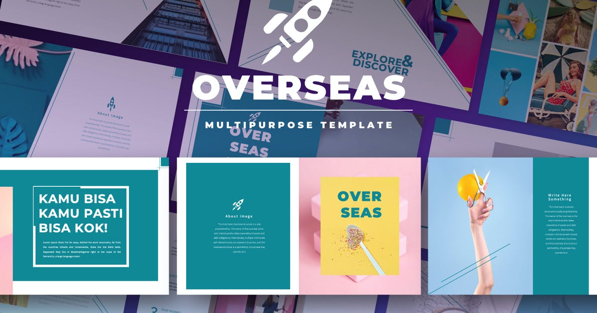 Download Overseas Business Pitch Keynote by templatehere