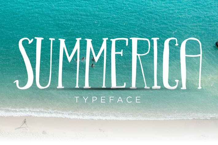Thumbnail for Summerica Typeface