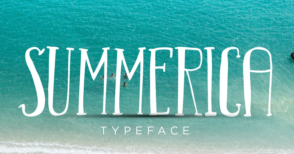 Download Summerica Typeface by jiwstudio