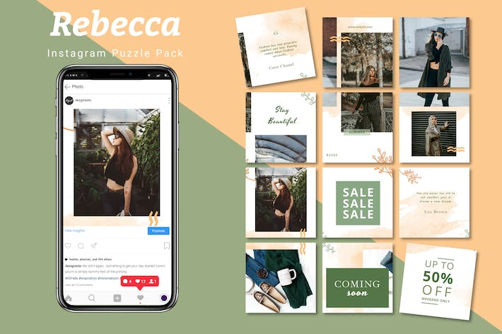 Thumbnail for Rebecca - Instagram Puzzle Pack