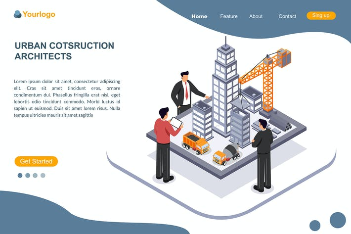 Thumbnail for URBAN COTSRUCTION ARCHITECTS - Landing Page