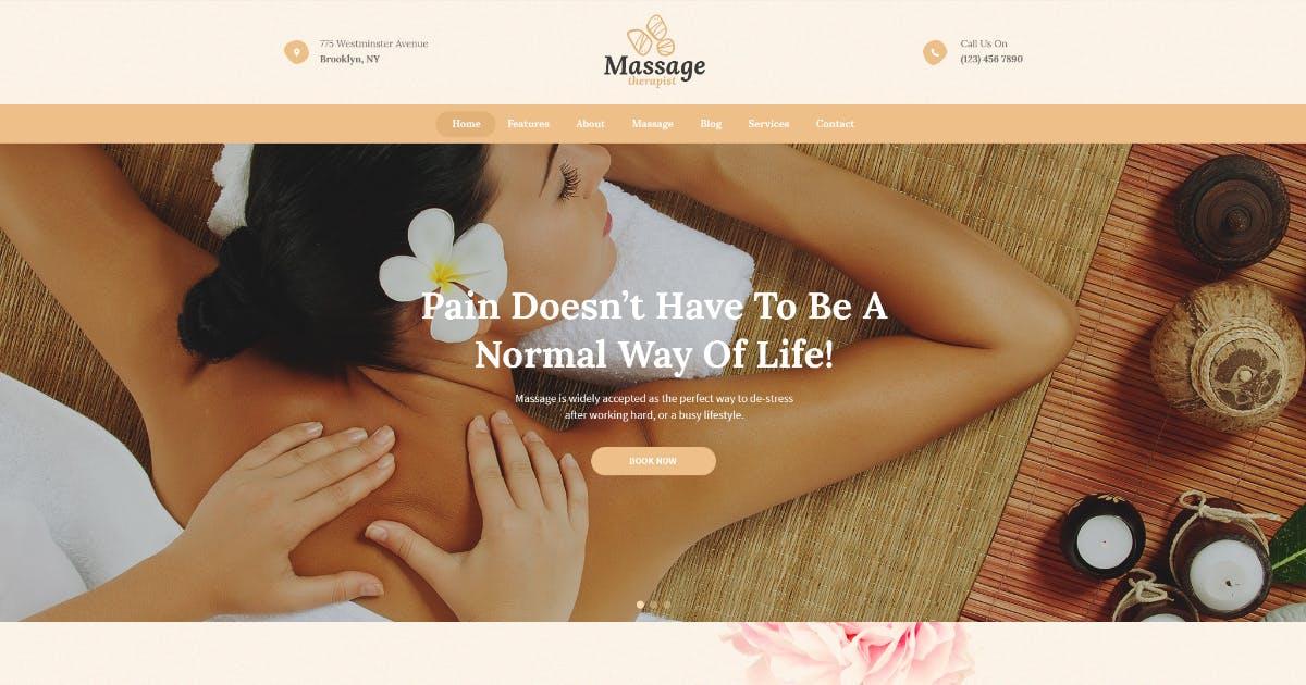 Download Massage Therapist and Spa Salon WordPress Theme by AncoraThemes