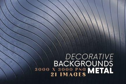Dekorative Hintergründe - Metal