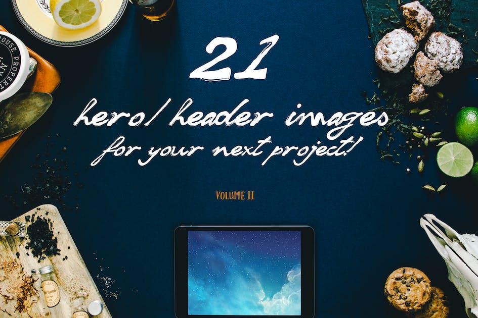 Download 21 Hero/Header images by Madebyvadim